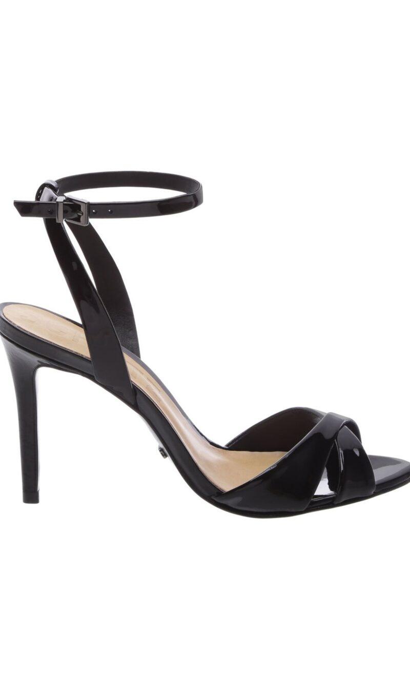 Black leather classic comfortable evening sandals - SCHUTZ